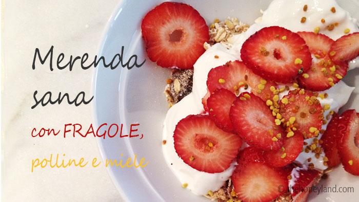 Spuntini Sani E Diabete : Merenda sana nutriente e dietetica idee con le fragole the