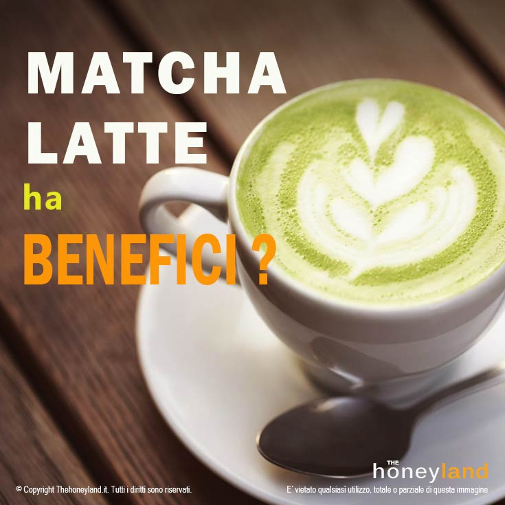 Matcha latte ha benefici?