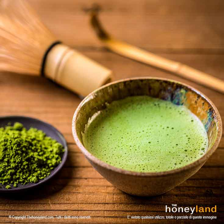 Matcha benefici del tè verde giapponese